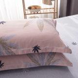 ホーム織物の綿の敷布の羽毛布団カバー寝具セット