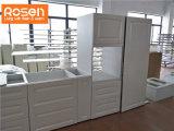 Laca de rectificado de diseño gris metálico kitchen cabinet
