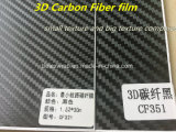Pellicola della fibra del carbonio della pellicola 3D dell'involucro dell'automobile