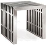 ステンレス鋼の庭の家具のベンチ
