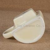 Tazza di ceramica del Tazza-Semicerchio speciale delle coppie con un Poket