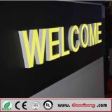 Hight Quanlity Vacuum 3D Acrílico LED Iluminado Letra Signs
