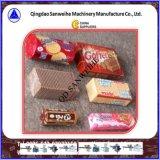 Empaquetadora de embalaje excesiva automática de la galleta (sin la bandeja)
