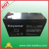 12V 7Ah AGM Bateria de chumbo-ácido para iluminação de emergência, Scooter