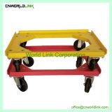 Pattino di plastica del carrello della rotella della rotella della cassa 4 della piattaforma