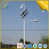 iluminación solar del híbrido LED de la altura 40W LED de los 7m poste