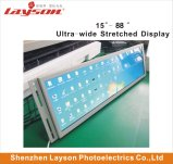 35 pouces ultra large de la publicité étirée Bar Media Player de signalisation numérique multimédia de réseau WiFi moniteur LED Affichage panneau LCD pleine couleur