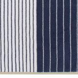 Baumwollblaues Streifen-Garn gefärbtes Jacquardwebstuhl-Stab-Tuch 100%