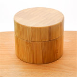 30g 50g 100g Surface Engraved Bamboo Hand Made Cream Jars