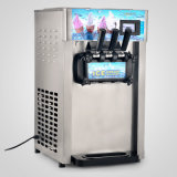 LCD 디스플레이 혼합 3 취향 110V를 가진 아이스크림 기계 후로즌 요구르트 아이스크림 제조기