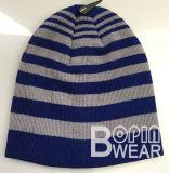Большое моды с голубой полосой на лыжах Beanie Beanie вязки