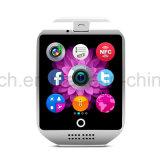 Telefone esperto do relógio de Multifunctions da forma nova com tela curvada Q18