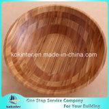 La FDA/LFGB Ensaladera Ensaladera de bambú natural