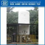 真空の低温学の酸素の貯蔵タンク