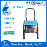машина уборщика электрического высокого давления 100bar водоструйная