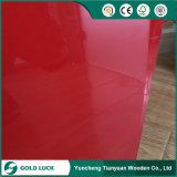MDF ULTRAVIOLETA pegado E1 de la pintura del alto lustre 850kgs/Cbm