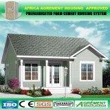Hogar modular prefabricado de la construcción de viviendas del marco ligero prefabricado de la estructura de acero