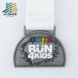 Поставка Jiabo Bespoke медаль мягкого металла эмали 5k идущее с заполняя цветами