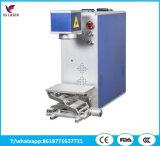 Máquina quente do laser Marking&Engraving da fibra da venda para as peças eletrônicas