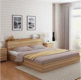 Heißes verkaufendes preiswertes modernes hölzernes Bett 2017