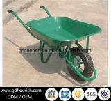 Wb6400園芸工具のカートのトロリー手押し車のゴム製一輪車