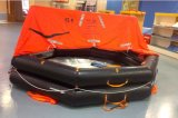 Het mariene Reddingsvlot van 6 Personen van de Apparatuur van de Redding Opblaasbare
