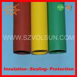 Tubazione termorestringibile dell'isolamento ad alta tensione della sbarra collettrice
