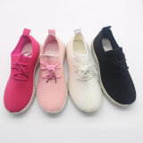 Новое в массовое производство моды кроссовки леди мягкий запуск спортивную обувь