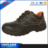Chaussures de sûreté en acier de noir de chapeau de tep Ufa019