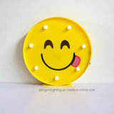 Super Cute вкусно Emoji Светодиодный ночник