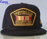 Surtidor del sombrero del casquillo del Snapback de la insignia de la divisa