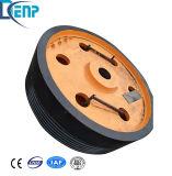 Mouche de concasseurs Roue, roue à plat et rainurés pour la vente de roue