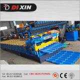 Dxのステップ鋼鉄は機械を形作るタイルロールを艶をかけた
