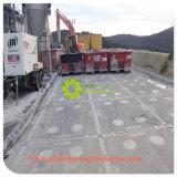 クレーンプラスチック反スリップ床のマットの移動式舗装UHMWPE一時Raodのマット
