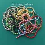 熱い販売法の別のサイズの多彩で装飾的な球の金属の鎖