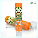 BPA liberano l'imballaggio cosmetico di plastica del tubo della lozione del tubo del PE