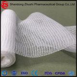 Rodillo absorbente médico 100% de la gasa del uso del hospital de la tela de algodón