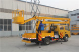 6-16m China Banheira de Venda com preço baixo do elevador hidráulico montado na plataforma de elevação de carga de trabalho de antena com marcação CE a certificação ISO