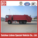 HOWO Compression Refuse Truck Garbage Truck 6X4、Sellのための290HP、