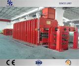 Pressa di vulcanizzazione calda del nastro trasportatore di vendita per produzione del tessuto delle cinghie professionali di memoria