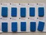 Alimentação de fábrica profissional esponja de folha de borracha de silicone coloridas, folha de espuma de borracha de silicone