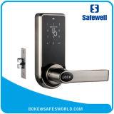 Bloqueio eletrônico de cor prata desbloqueado por senha ou cartão Emid