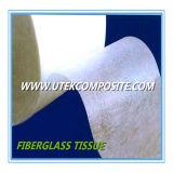 Tejido de la fibra de vidrio del espesor 0.4m m para el separador de la batería