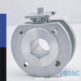 Getto o Forged Stainless Steel Italia Wafer Ball Valve con One Piece Thin Body