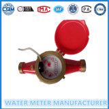 Messingantrieb-Übergangskaltes Wasser-Messinstrument