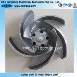 Инвестиции литая углеродистая сталь / нержавеющая сталь рабочее колесо насоса