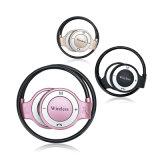O uso de telemóveis função para microfone e fone de ouvido Bluetooths de toque