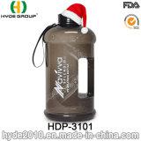 Bottiglie di acqua di plastica esterne di grande capienza di sport 2.2L PETG (HDP-3101)