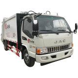 Le module JAC Euro5 4X2 La collecte des déchets Compacteur de Camion Camion Poubelle