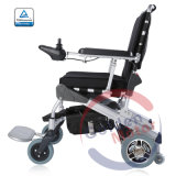 La FDA 8''Electric Power E fauteuil roulant pliable Brushless avec batterie LiFePO4
